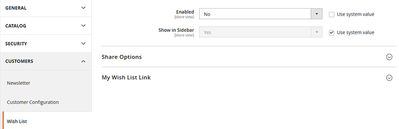 Magento 2 - How To Disable Wishlist Feature